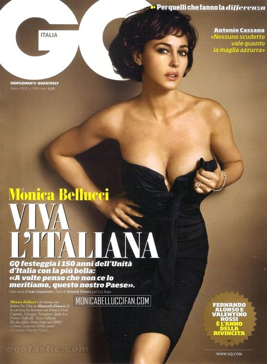 Monica Bellucci na okładce The Hunger