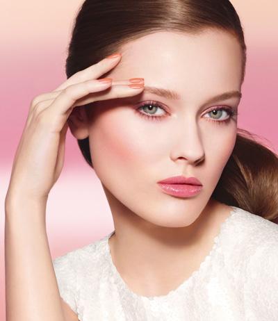 Monika Jagaciak w wiosennej kampanii Chanel