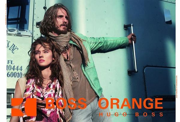 Monika Jagaciak w kampanii Hugo Boss Orange