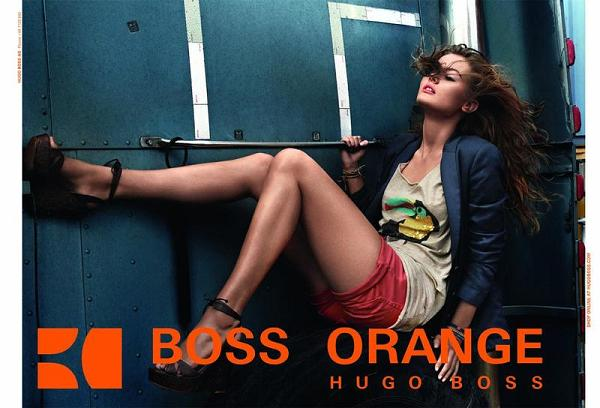 Monika Jagaciak w kampanii Hugo Boss Orange