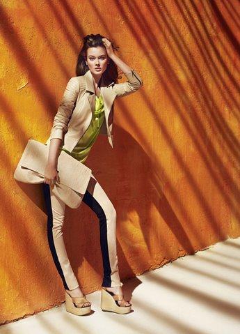 Monika Jagaciak w wiosennej kampanii reklamowej Simple