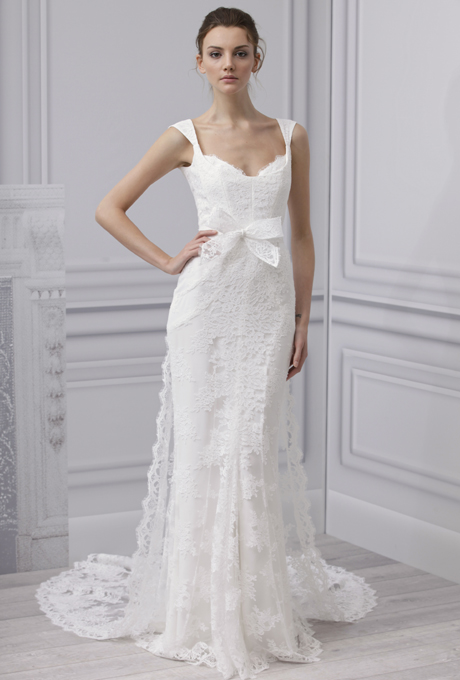 Suknie ślubne Monique Lhuillier na rok 2013