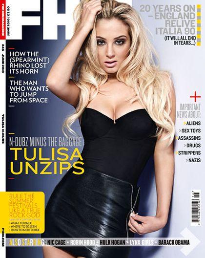 Najseksowniejszą kobietą świata jest...Tulisie Contos