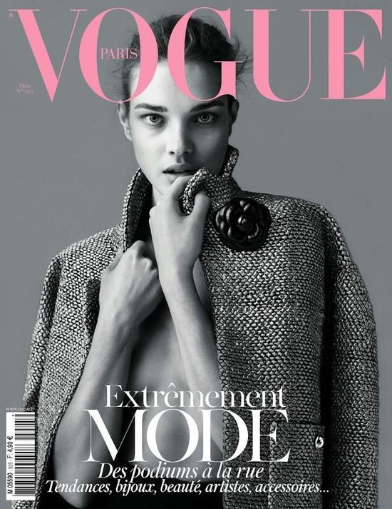Natalia Vodianova w Vogue Paris (FOTO)