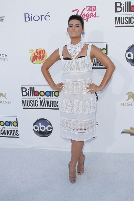 Nelly Furtado w sukience Alberta Ferretti (FOTO)