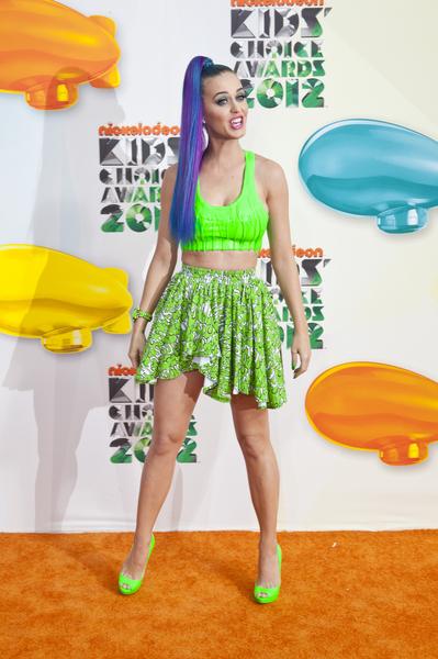 Kreacje na Nickelodeon's Kids' Choice Awards (FOTO)/Katy Perry