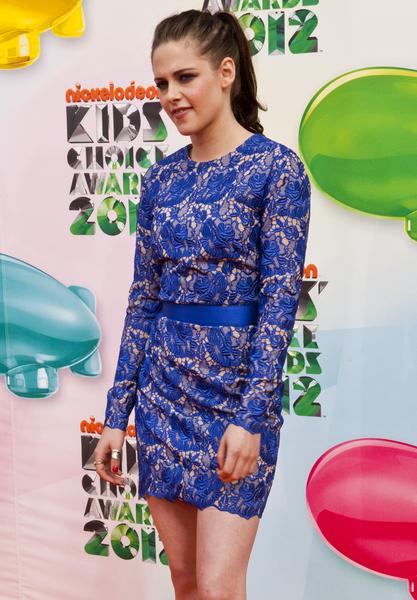 Kreacje na Nickelodeon's Kids' Choice Awards (FOTO)/Kristen Stewart