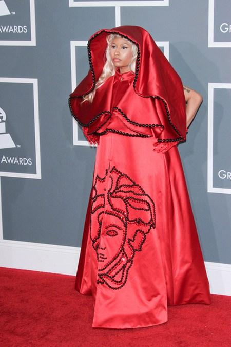 Nicki Minaj Gwiazdy na gali Grammy