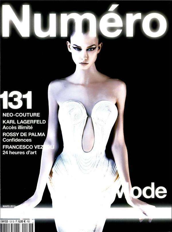 Gwiazdy modelingu w obiektywie Karla Lagerfelda