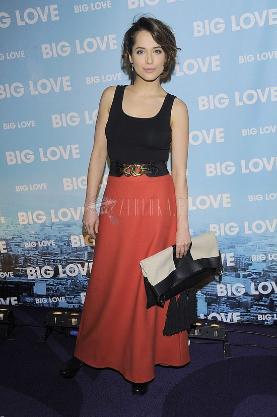 Aleksandra Hamkało na premierze Big Love (FOTO)