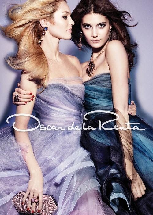 Candice Swanepoel w kampanii Oscara de la Renty (FOTO)
