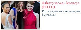 Oskary 2012 - najpiękniejsze suknie