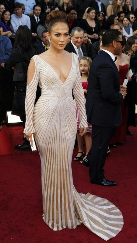 Biel kontra czerwień - Oskary 2012 (FOTO)