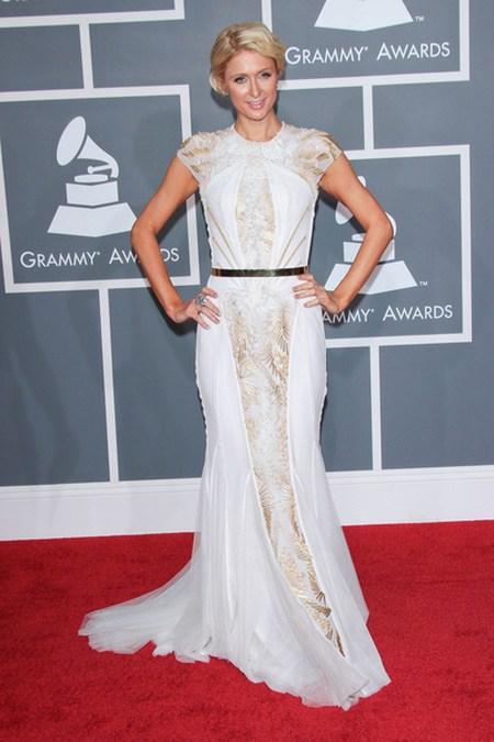 Paris Hilton Gwiazdy na gali Grammy