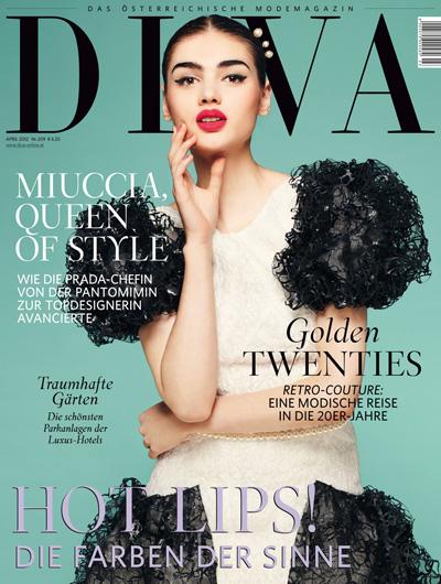 Paulina Gieramisiuk dla magazynu Diva