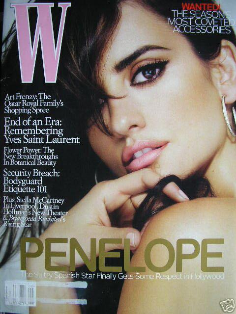 Zmysłowa Penelope Cruz w W Magazine