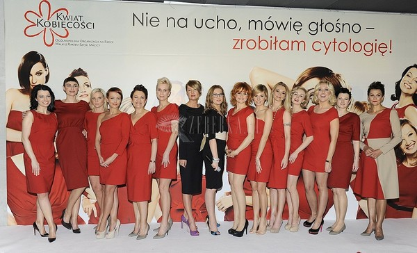 Czerwień na gali Piękna bo zdrowa (FOTO)