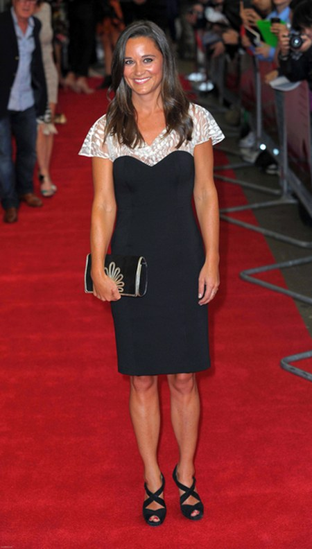 Pippa Middleton na premierze filmu Shadow Dancer
