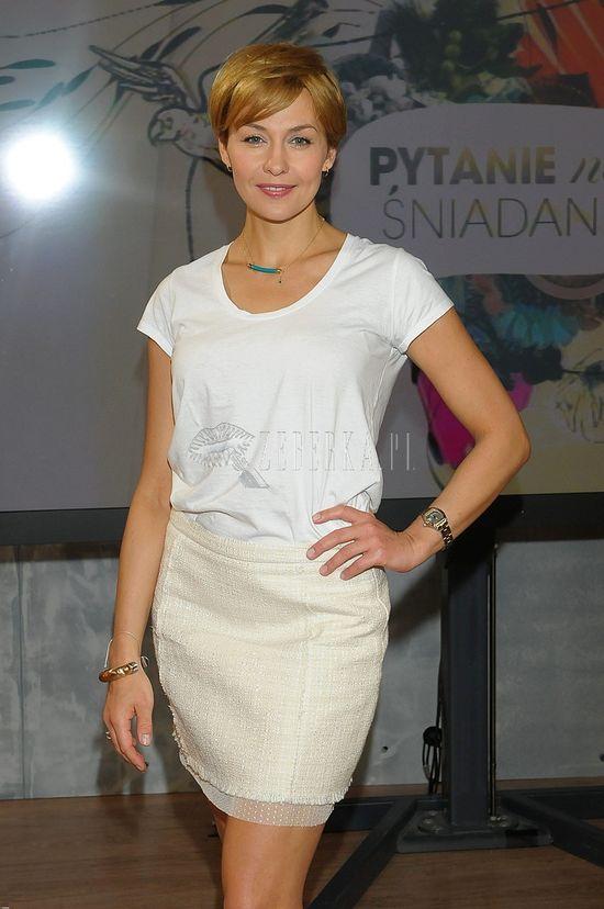 Anna Popek polubiła złoty blond (FOTO)