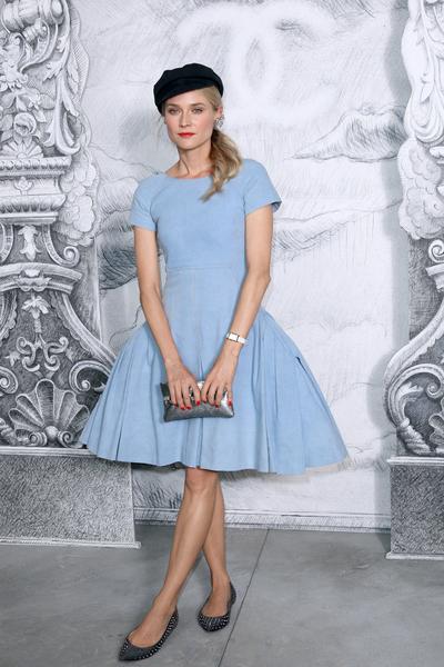 Diane Kruger w dziwacznej stylizacji (FOTO)