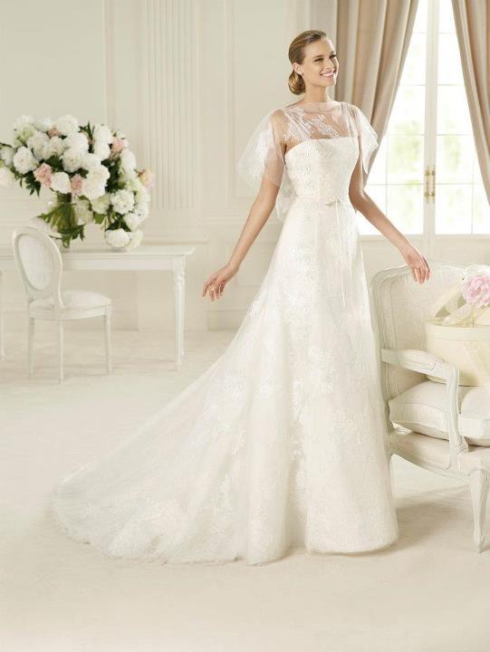 Suknie ślubne Pronovias na rok 2013