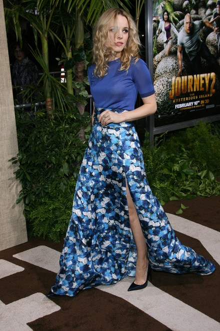 Rachel McAdams niebieska od stóp do głów (FOTO)