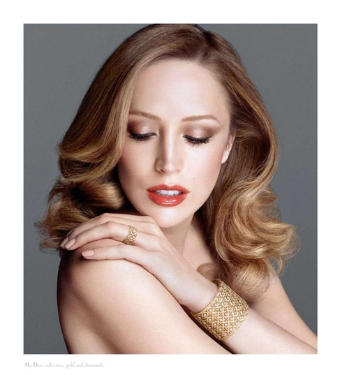 Raquel Zimmermann nową twarzą Diora (FOTO)