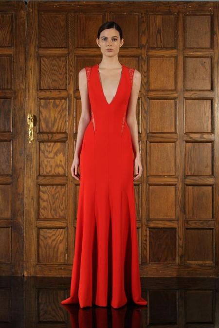 Krwistoczerwona suknia Kristen Stewart (FOTO)