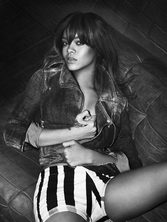 Kolejne zdjęcia Rihanny z kampanii Armani