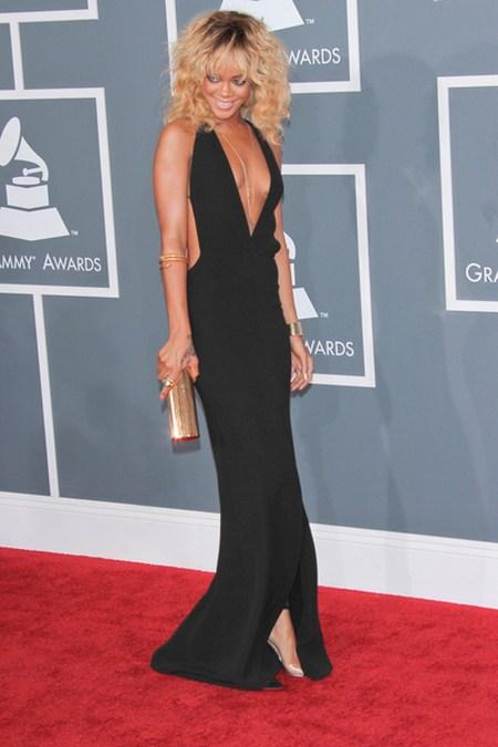 Rihanna Gwiazdy na gali Grammy