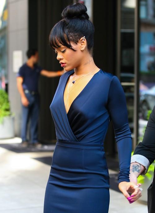 Rihanna nawet w żałobie wygląda bardzo stylowo