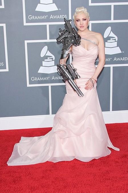 Sasha Gradiva Gwiazdy na gali Grammy