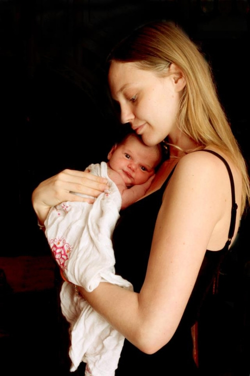 Sasha Pivovarova pochwaliła się córeczką (FOTO)