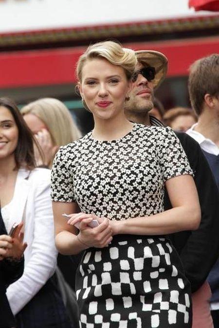 Scarlett Johansson odsłoniła swoją gwiazdę