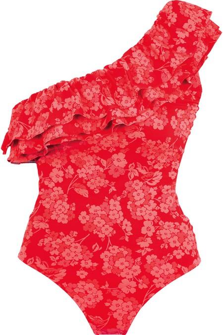She - kostiumy kąpielowe w odcieniach czerwieni