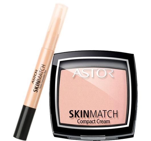 Astor SkinMatch - nowy podkład i korektor