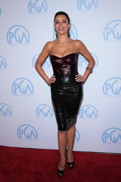 Sofia Vergara w sukience Monique Lhuillier (FOTO)