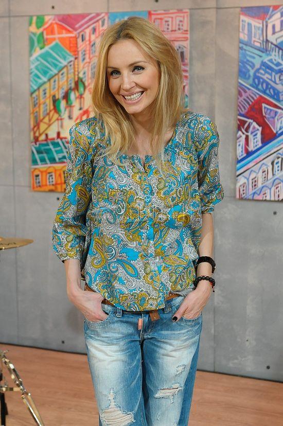 Agnieszka Szulim w dzwonach