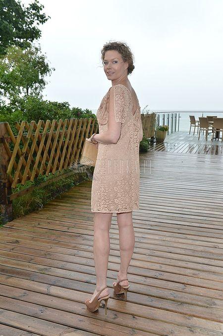 Tamara Arciuch szykowna w koronkach (FOTO)