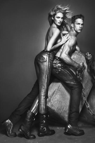 Candice Swanepoel nową twarzą Versace!
