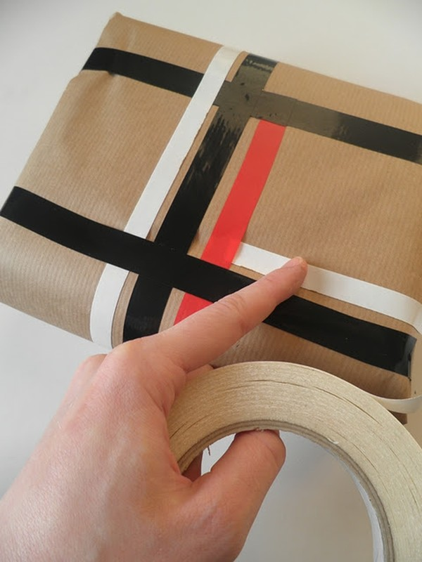 Oryginalny sposób na pakowanie prezentów