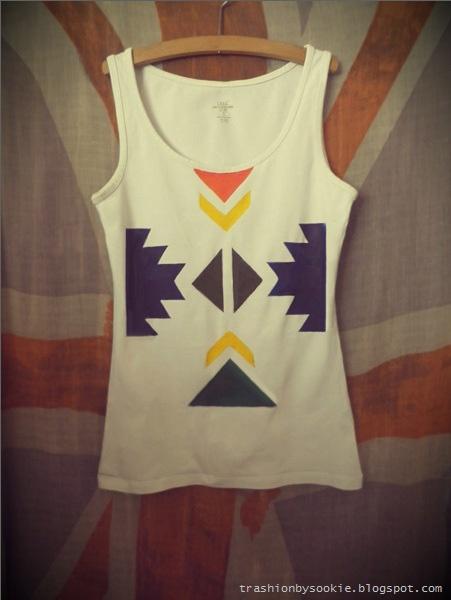 Zrób to sama: koszulka z azteckim motywem