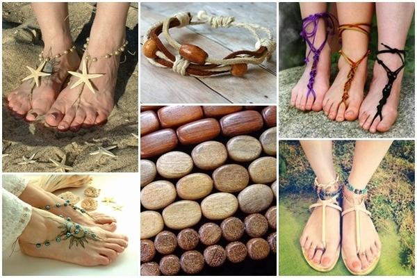 Zrób to sama: bransoletka na stopę
