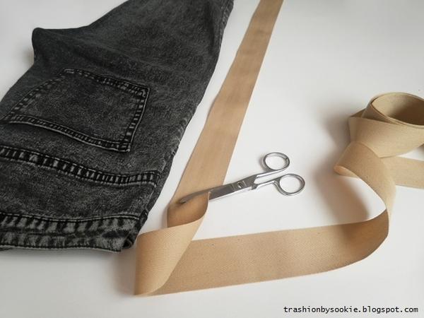 Zrób to sama: spodnie z bocznym paskiem (FOTO)