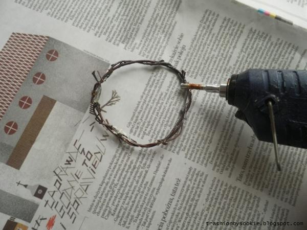 Zrób to sama: bransoletka z gałązek