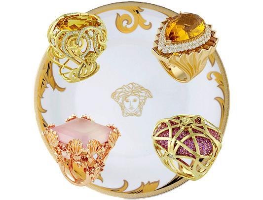 Niesamowita biżuteria Atelier Versace