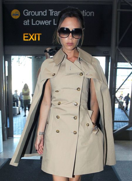 Sukienko-płaszcz Victorii Beckham (FOTO)