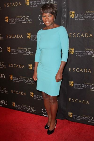 Gwiazdy na imprezie BAFTA (FOTO)/Viola Davis