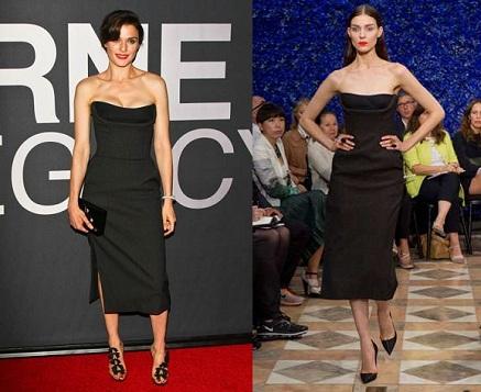 Rachel Weisz w sukni Christiana Diora