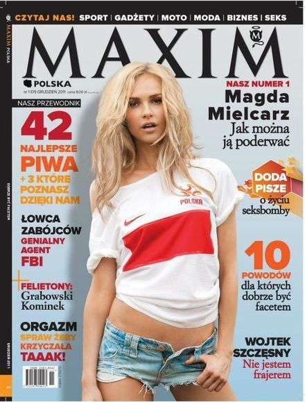 Weronika Rosati w Maximie